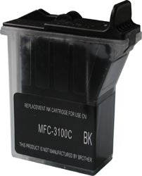 Brother LC21BK Compatible Black MFC 3100C,3200C,5100C,5200C