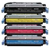 HP Color LaserJet 2600 Toner Cartridges -Value   4 Pack