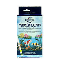 5 in 1 Pond Water Test Strips