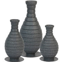 Atlantic Water Gardens 3 Color Changing Vase Set