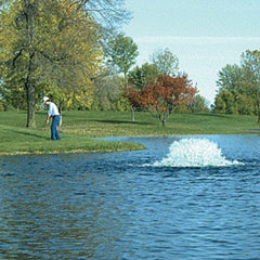 Kasco 1 HP Pond Aerator with Float
