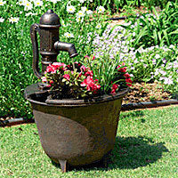 Little Giant Tuscany Fountain Planter