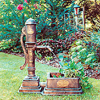Little Giant Pump Fountain Planter