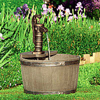 Little Giant Whisky Barrel Fountain