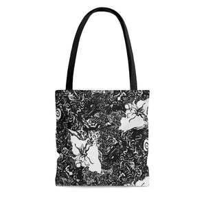 Midnight AOP Tote Bag