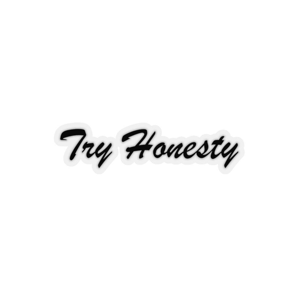 Try Honesty Sticker