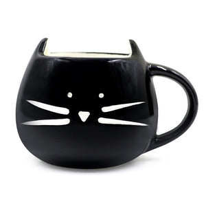 Cat Mug With Spoon
