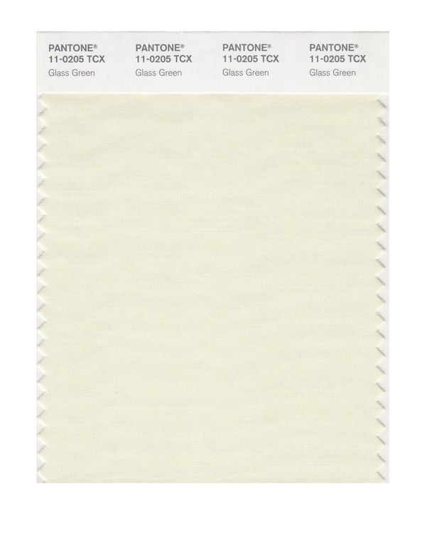 PANTONE SMART swatch 11-0205 TCX Glass Green