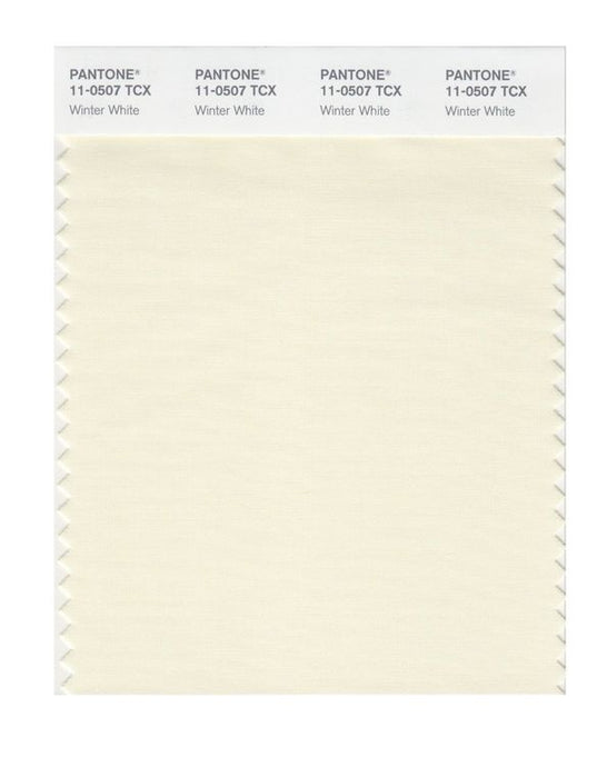 PANTONE SMART swatch 11-0507 TCX Winter White