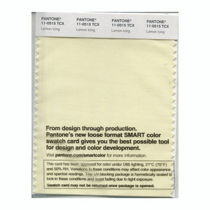 PANTONE SMART swatch 11-0515 TCX Lemon Icing