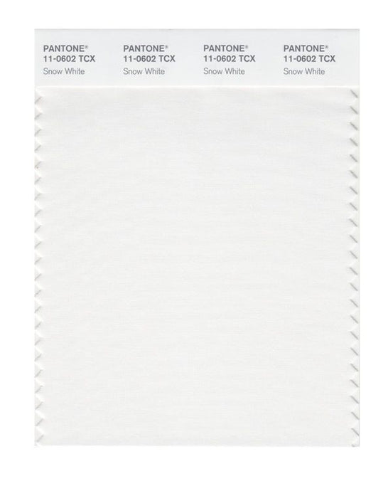 PANTONE SMART swatch 11-0602 TCX Snow White