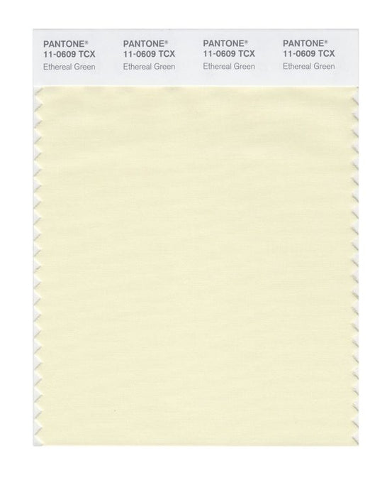 PANTONE SMART swatch 11-0609 TCX Ethereal Green
