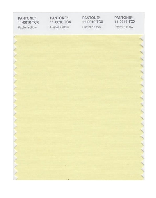 PANTONE SMART swatch 11-0616 TCX Pastel Yellow