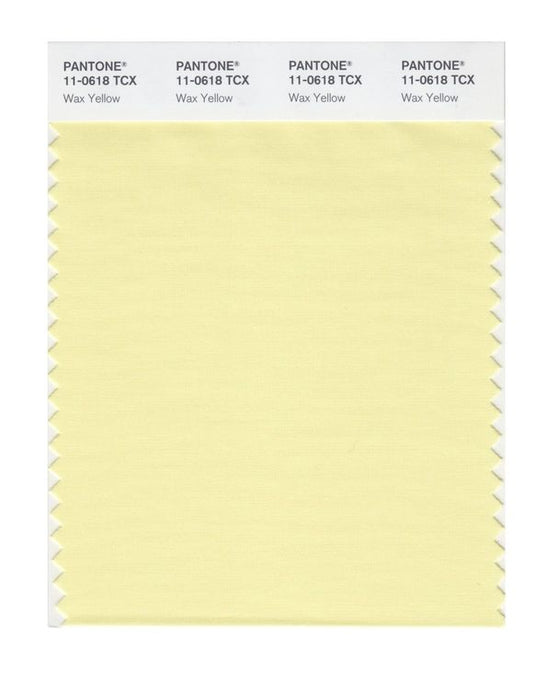 PANTONE SMART swatch 11-0618 TCX Wax Yellow