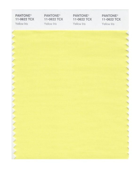 PANTONE SMART swatch 11-0622 TCX Yellow Iris