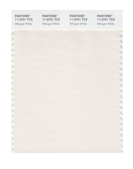 PANTONE SMART swatch 11-0701 TCX Whisper White