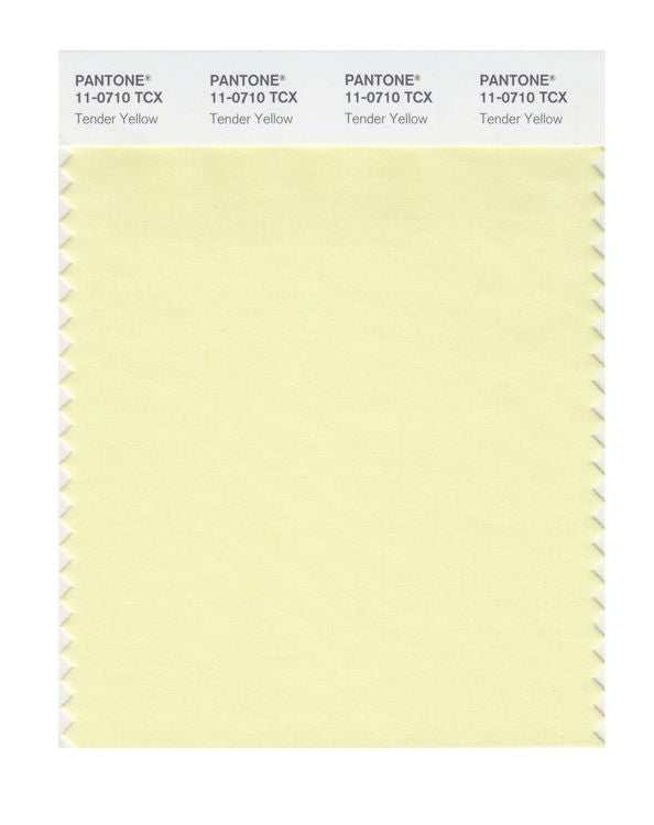 PANTONE SMART swatch 11-0710 TCX Tender Yellow