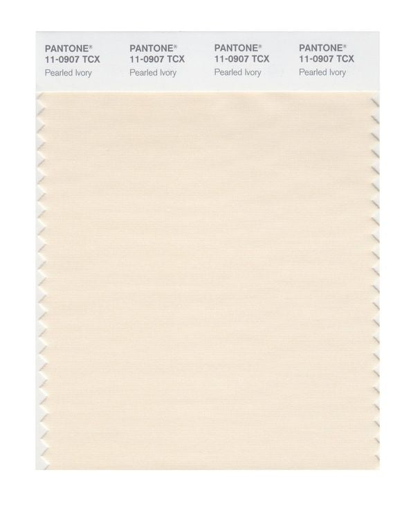 PANTONE SMART swatch 11-0907 TCX Pearled Ivory