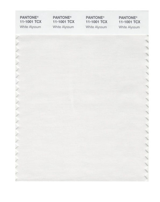 PANTONE SMART swatch 11-1001 TCX White Alyssum