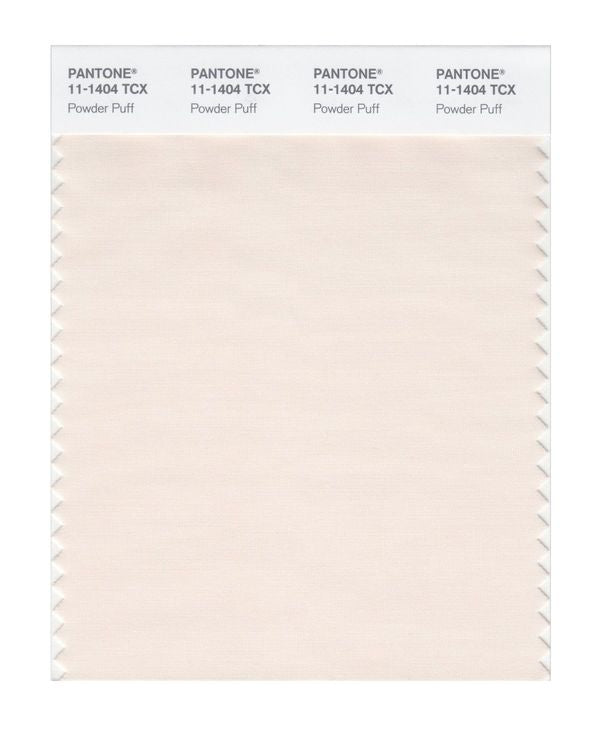 PANTONE SMART swatch 11-1404 TCX Powder Puff