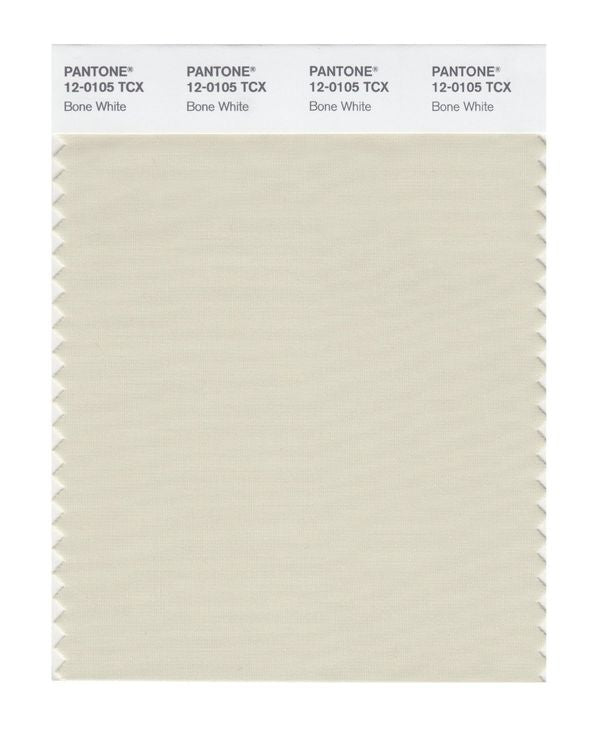 PANTONE SMART swatch 12-0105 TCX Bone White