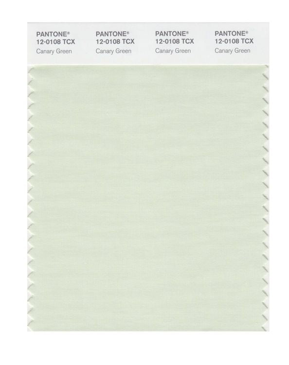 PANTONE SMART swatch 12-0108 TCX Canary Green