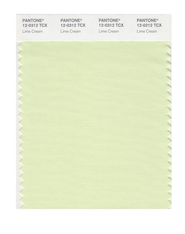 PANTONE SMART swatch 12-0312 TCX Lime Cream