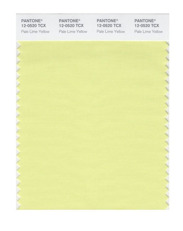 PANTONE SMART swatch 12-0520 TCX Pale Lime Yellow