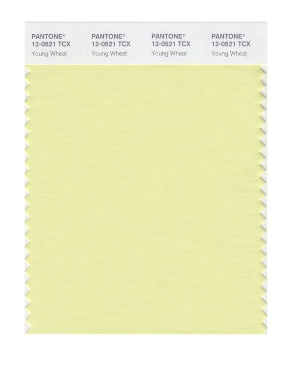 PANTONE SMART swatch 12-0521 TCX Young Wheat