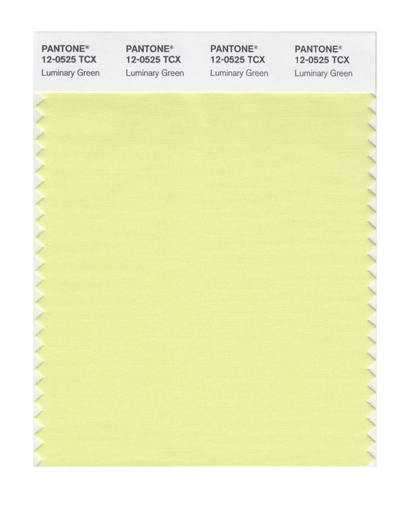 PANTONE SMART swatch 12-0525 TCX Luminary Green