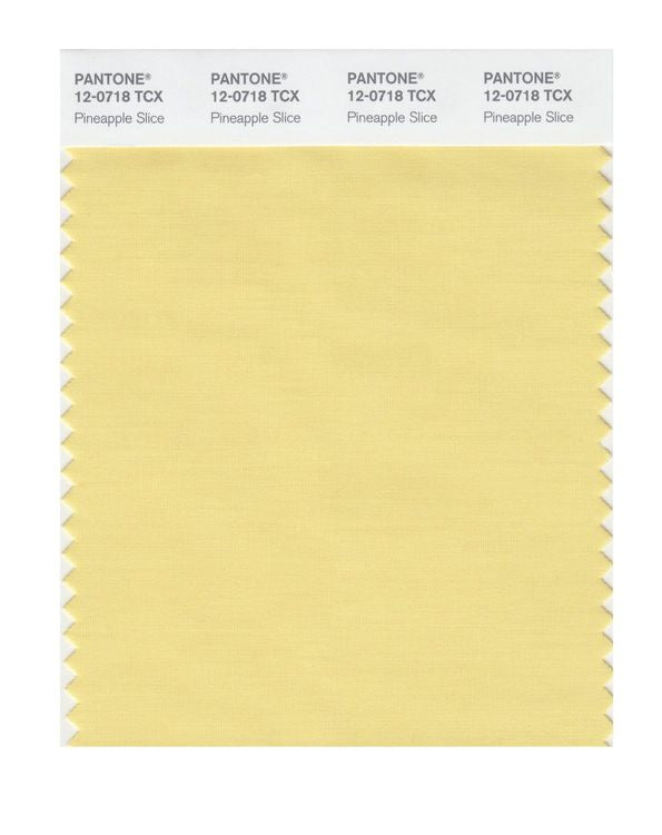 PANTONE SMART swatch 12-0718 TCX Pineapple Slice