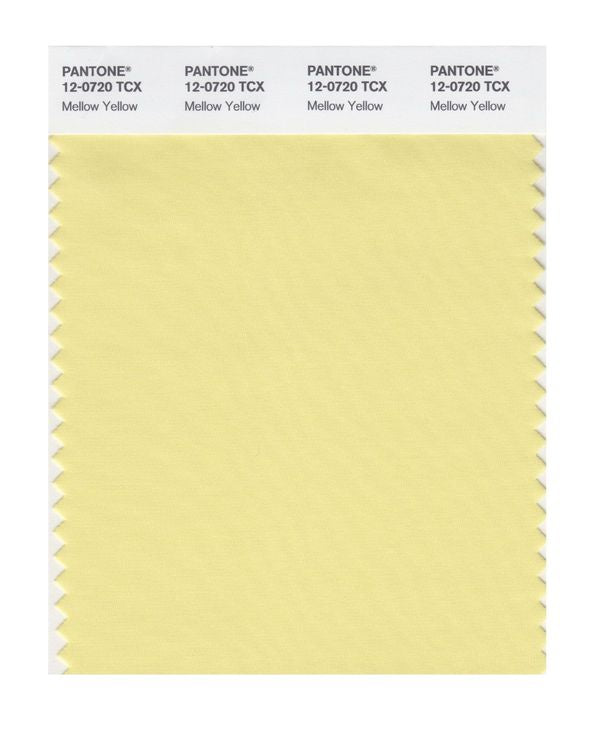 PANTONE SMART swatch 12-0720 TCX Mellow Yellow