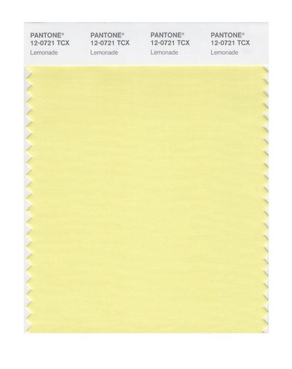 PANTONE SMART swatch 12-0721 TCX Lemonade