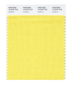 PANTONE SMART swatch 12-0737 TCX Goldfinch
