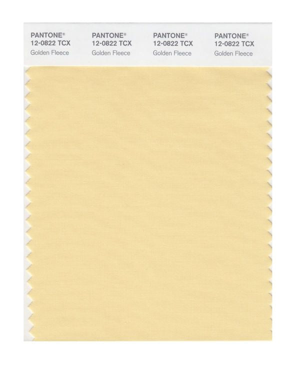 PANTONE SMART swatch 12-0822 TCX Golden Fleece