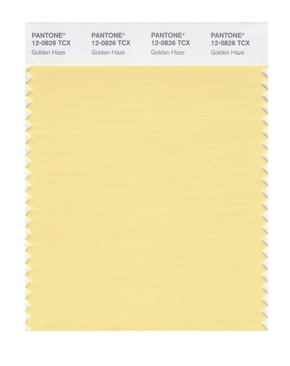 PANTONE SMART swatch 12-0826 TCX Golden Haze