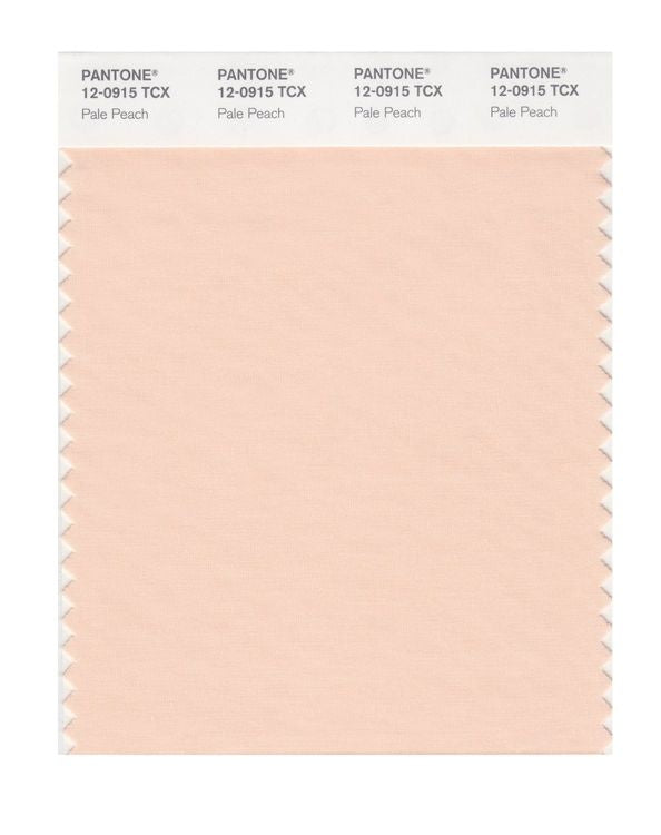 PANTONE SMART swatch 12-0915 TCX Pale Peach