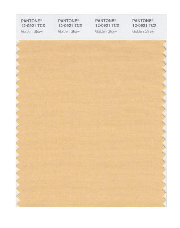 PANTONE SMART swatch 12-0921 TCX Golden Straw