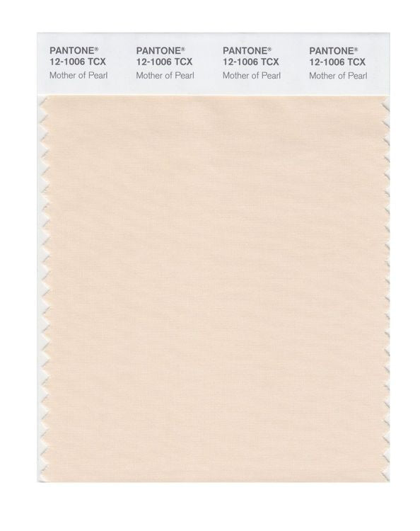 PANTONE SMART swatch 12-1006 TCX Mother of Pearl