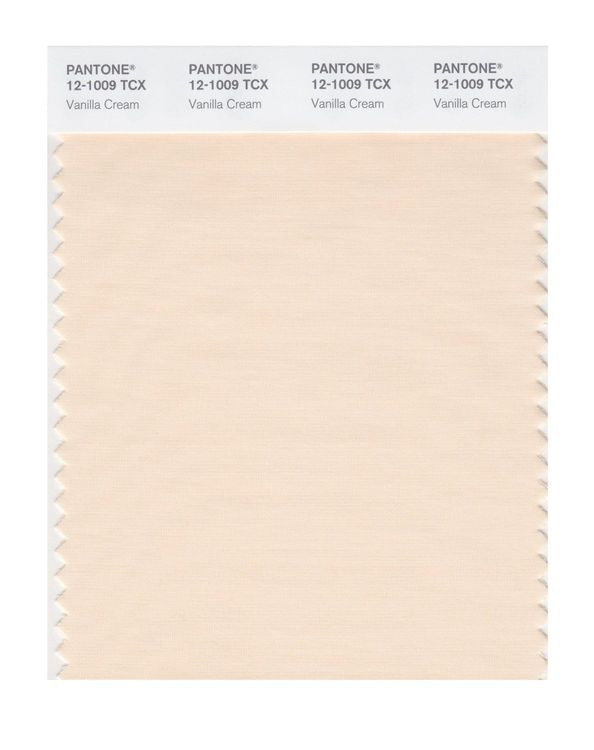 PANTONE SMART swatch 12-1009 TCX Vanilla Cream