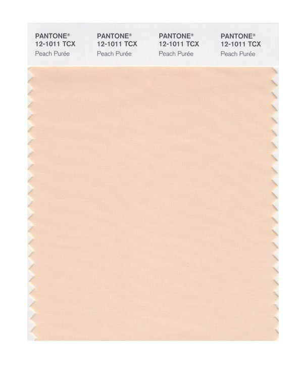 PANTONE SMART swatch 12-1011 TCX Peach Purée
