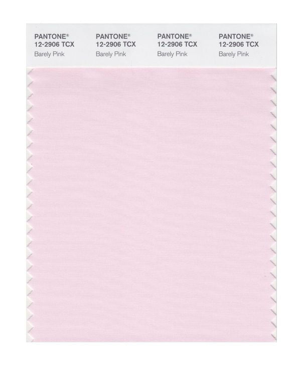 PANTONE SMART swatch 12-2906 TCX Barely Pink