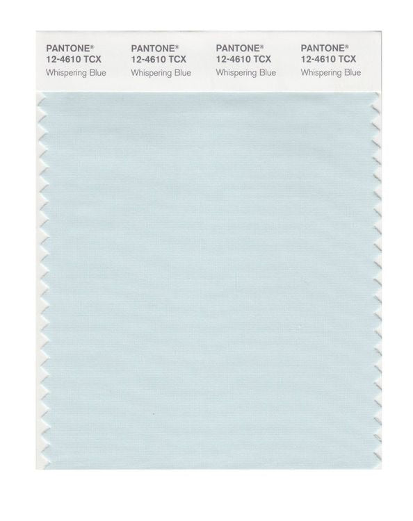 PANTONE SMART swatch 12-4610 TCX Whispering Blue