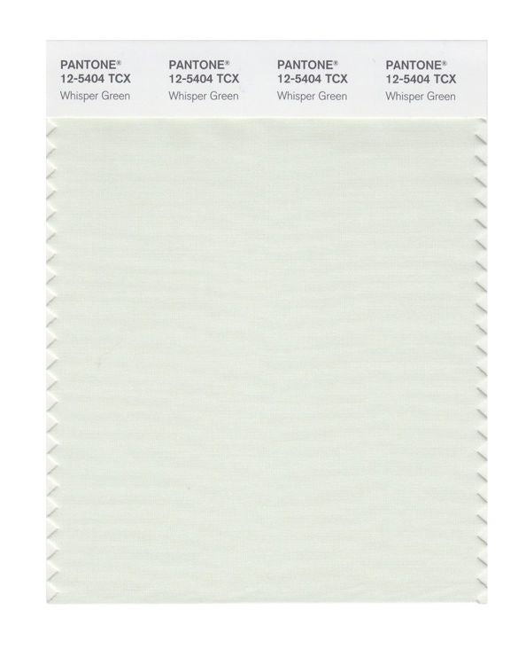 PANTONE SMART swatch 12-5404 TCX Whisper Green