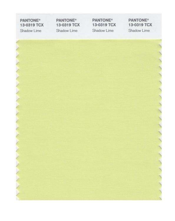 PANTONE SMART swatch 13-0319 TCX Shadow Lime