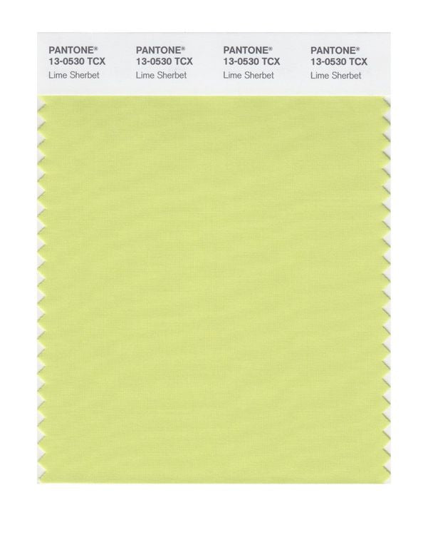 PANTONE SMART swatch 13-0530 TCX Lime Sherbet