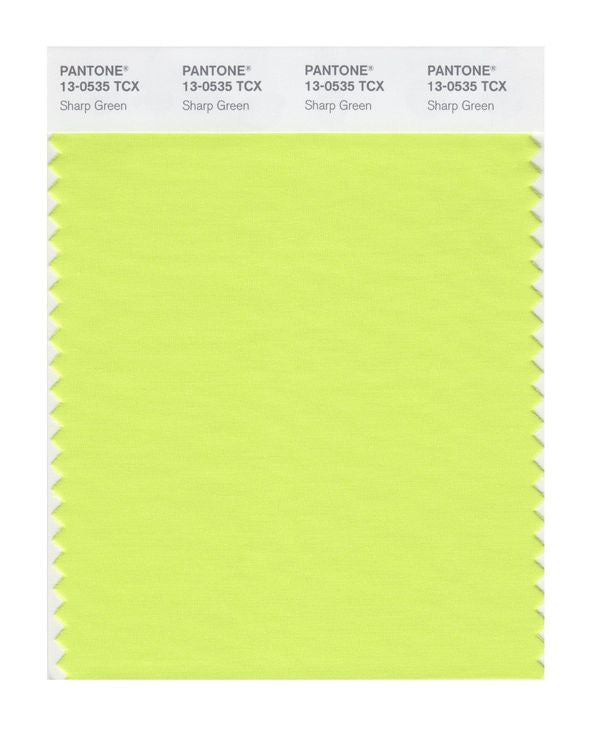 PANTONE SMART swatch 13-0535 TCX Sharp Green