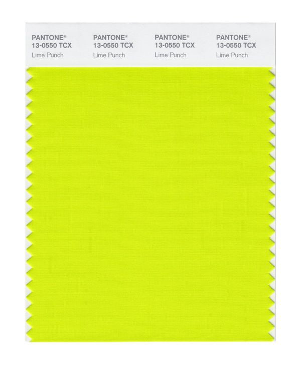 PANTONE SMART swatch 13-0550 TCX Lime Punch
