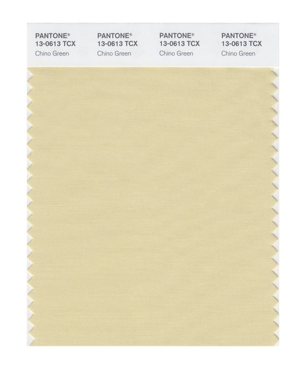 PANTONE SMART swatch 13-0613 TCX Chino Green