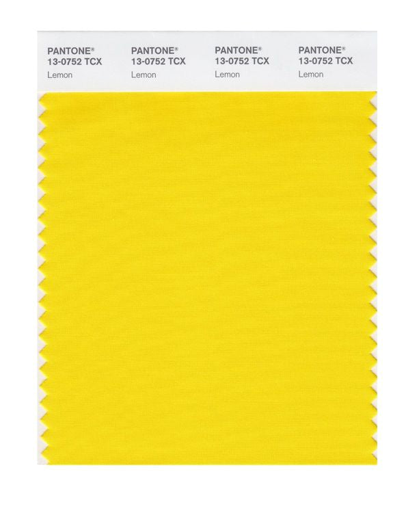 PANTONE SMART swatch 13-0752 TCX Lemon
